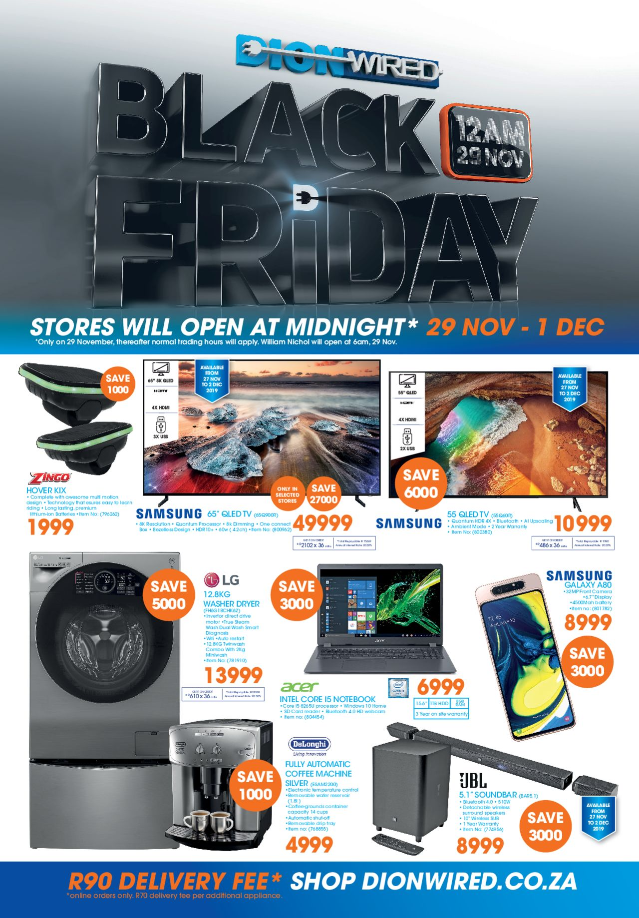 Catalog Dion Wired - Black Friday valid from 29/11/2019 page number 1