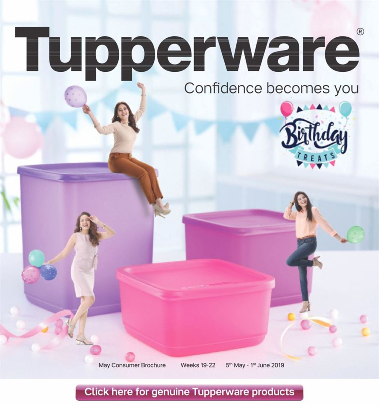 Tupperware catalogue valid from 05/05/2019 - page number 1