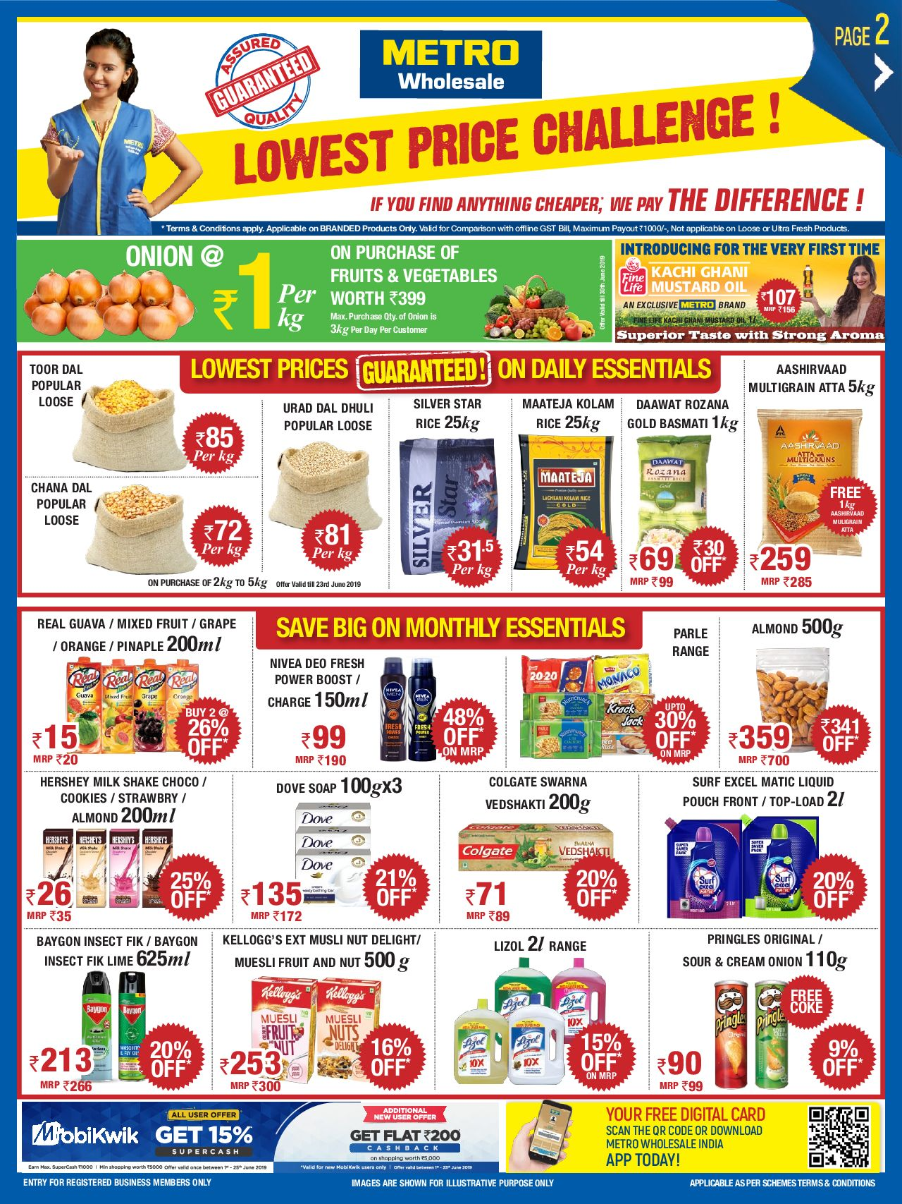 Metro catalogue valid from 15/06/2019 - page number 1